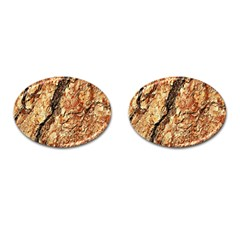 Tree Bark D Cufflinks (oval) by MoreColorsinLife