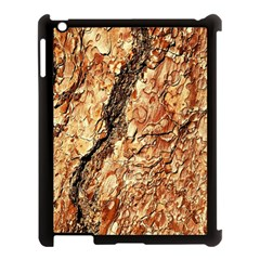 Tree Bark D Apple Ipad 3/4 Case (black) by MoreColorsinLife