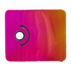 Pink Orange Yellow Ombre  Galaxy S3 (flip/folio) by SimplyColor