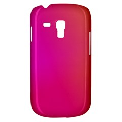 Pink Orange Yellow Ombre  Galaxy S3 Mini by SimplyColor