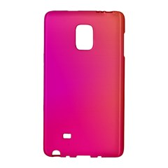 Pink Orange Yellow Ombre  Galaxy Note Edge by SimplyColor
