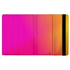 Pink Orange Yellow Ombre  Apple Ipad Pro 12 9   Flip Case by SimplyColor