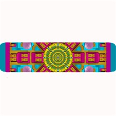Sunny And Bohemian Sun Shines In Colors Large Bar Mats by pepitasart