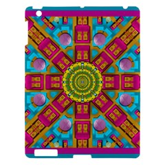 Sunny And Bohemian Sun Shines In Colors Apple Ipad 3/4 Hardshell Case by pepitasart