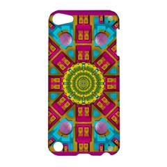 Sunny And Bohemian Sun Shines In Colors Apple Ipod Touch 5 Hardshell Case by pepitasart