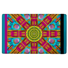 Sunny And Bohemian Sun Shines In Colors Apple Ipad 2 Flip Case by pepitasart