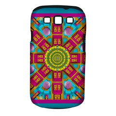 Sunny And Bohemian Sun Shines In Colors Samsung Galaxy S Iii Classic Hardshell Case (pc+silicone) by pepitasart