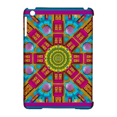 Sunny And Bohemian Sun Shines In Colors Apple Ipad Mini Hardshell Case (compatible With Smart Cover) by pepitasart
