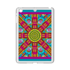 Sunny And Bohemian Sun Shines In Colors Ipad Mini 2 Enamel Coated Cases by pepitasart