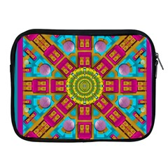 Sunny And Bohemian Sun Shines In Colors Apple Ipad 2/3/4 Zipper Cases by pepitasart