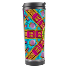 Sunny And Bohemian Sun Shines In Colors Travel Tumbler by pepitasart