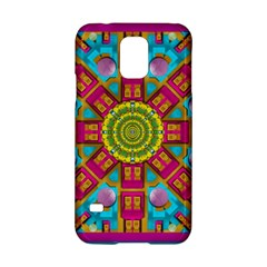 Sunny And Bohemian Sun Shines In Colors Samsung Galaxy S5 Hardshell Case  by pepitasart
