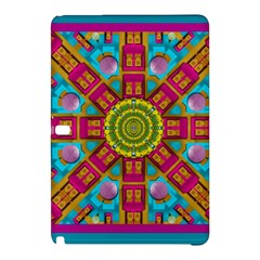 Sunny And Bohemian Sun Shines In Colors Samsung Galaxy Tab Pro 12 2 Hardshell Case by pepitasart