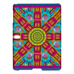 Sunny And Bohemian Sun Shines In Colors Samsung Galaxy Tab S (10 5 ) Hardshell Case  by pepitasart