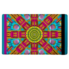 Sunny And Bohemian Sun Shines In Colors Apple Ipad Pro 9 7   Flip Case by pepitasart