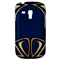 Art Nouveau,vintage,floral,belle Époque,elegant,blue,gold,art Deco,modern,trendy Galaxy S3 Mini by 8fugoso