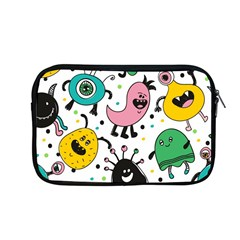 Cute And Fun Monsters Pattern Apple Macbook Pro 13  Zipper Case by allthingseveryday