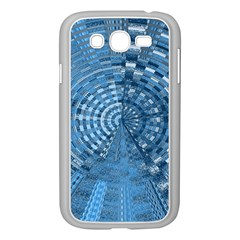 Gateway Pattern Blue 3 Samsung Galaxy Grand Duos I9082 Case (white) by Cveti