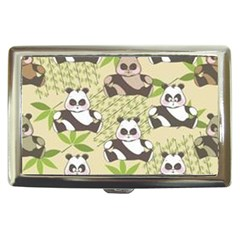 Fun Panda Pattern Cigarette Money Cases by allthingseveryday