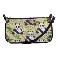 Fun Panda Pattern Shoulder Clutch Bags by allthingseveryday