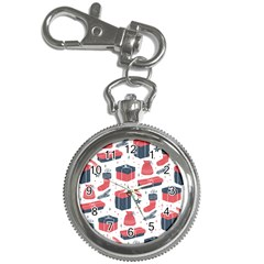 Christmas Gift Sketch Key Chain Watches