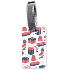 Christmas Gift Sketch Luggage Tags (one Side)  by patternstudio