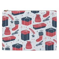 Christmas Gift Sketch Cosmetic Bag (xxl)  by patternstudio