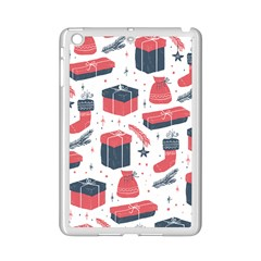 Christmas Gift Sketch Ipad Mini 2 Enamel Coated Cases by patternstudio