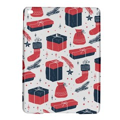 Christmas Gift Sketch Ipad Air 2 Hardshell Cases by patternstudio