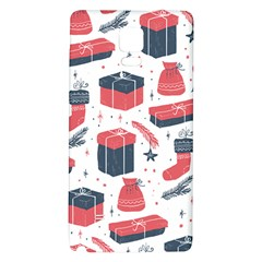 Christmas Gift Sketch Galaxy Note 4 Back Case by patternstudio