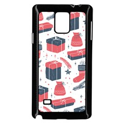 Christmas Gift Sketch Samsung Galaxy Note 4 Case (black) by patternstudio
