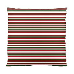 Christmas Stripes Pattern Standard Cushion Case (one Side) by patternstudio