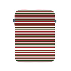 Christmas Stripes Pattern Apple Ipad 2/3/4 Protective Soft Cases by patternstudio