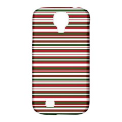 Christmas Stripes Pattern Samsung Galaxy S4 Classic Hardshell Case (pc+silicone)