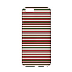 Christmas Stripes Pattern Apple Iphone 6/6s Hardshell Case by patternstudio