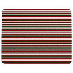 Christmas Stripes Pattern Jigsaw Puzzle Photo Stand (rectangular) by patternstudio