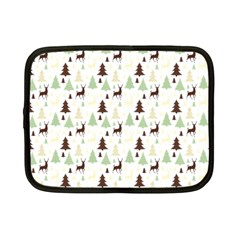 Reindeer Tree Forest Netbook Case (small)  by patternstudio