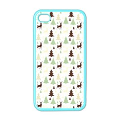 Reindeer Tree Forest Apple Iphone 4 Case (color) by patternstudio