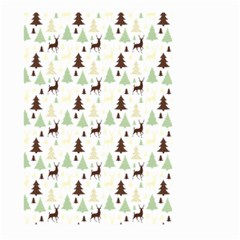 Reindeer Tree Forest Large Garden Flag (two Sides) by patternstudio