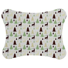 Reindeer Tree Forest Jigsaw Puzzle Photo Stand (bow) by patternstudio