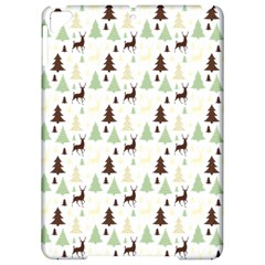 Reindeer Tree Forest Apple Ipad Pro 9 7   Hardshell Case by patternstudio