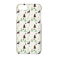 Reindeer Tree Forest Apple Iphone 8 Hardshell Case by patternstudio