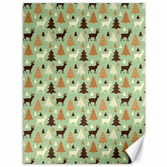 Reindeer Tree Forest Art Canvas 36  X 48   by patternstudio