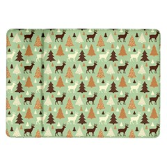Reindeer Tree Forest Art Samsung Galaxy Tab 10 1  P7500 Flip Case by patternstudio