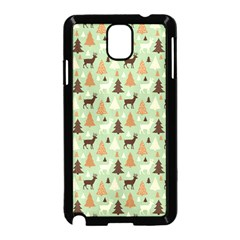 Reindeer Tree Forest Art Samsung Galaxy Note 3 Neo Hardshell Case (black) by patternstudio
