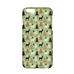 Reindeer Tree Forest Art Apple Iphone 6/6s Hardshell Case by patternstudio