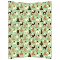 Reindeer Tree Forest Art Back Support Cushion by patternstudio