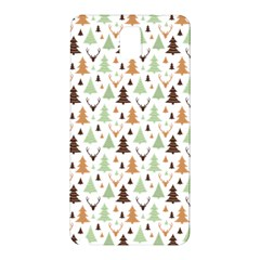 Reindeer Christmas Tree Jungle Art Samsung Galaxy Note 3 N9005 Hardshell Back Case by patternstudio