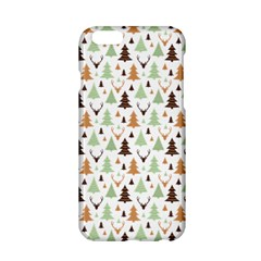 Reindeer Christmas Tree Jungle Art Apple Iphone 6/6s Hardshell Case by patternstudio