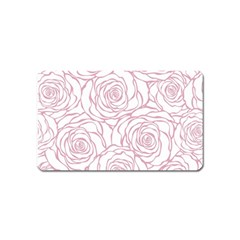 Pink Peonies Magnet (name Card) by 8fugoso